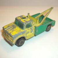 Matchbox Dodge D300 (Wreck Truck) felújítás
