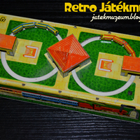 Óraműves szovjet vasutas lemezjáték