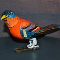 Felhúzhatós óraműves madár