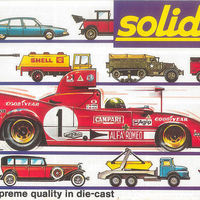 Solido katalógus 1976