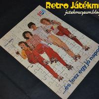 PEPSI puzzle a 80-as évekből