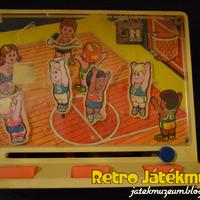 Mechanikus TOMY kosárlabda játék