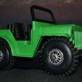 Hazai gyártású hegymászó Jeep