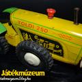 Lemezárugyár Toldi 250 lemeztraktor