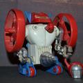 Micronauts Microtron elemes robot