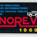 Norev katalógus 1969