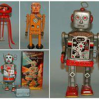 Régi robotos játékok