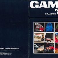 Gama katalógus 1984