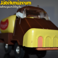 Szovjet tejes teherautó