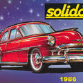 Solido katalógus 1986
