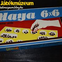 Maya 6x6 logikai játék