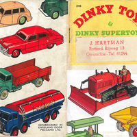 Dinky Toys katalógus 1955