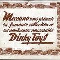 1939-es és 1949-es Dinky Toys katalógus