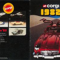 Corgi katalógus 1982