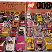 Corgi katalógus 1972