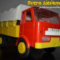 Műanyag Star platós teherautó