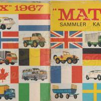 1967-es Matchbox katalógus