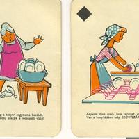 Vaskalap kártya