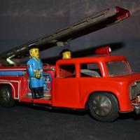 Kínai lendkerekes tűzoltóautó