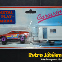 Metal Play Mobil Caravan Twin Pack