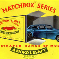 Matchbox katalógus 1959