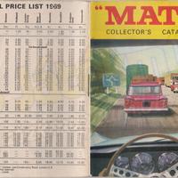 1969-es Matchbox katalógus