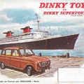 Dinky Toys 1962-es katalógus