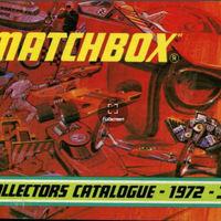 Matchbox katalógus 1972