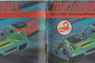 1971-es Matchbox katalógus