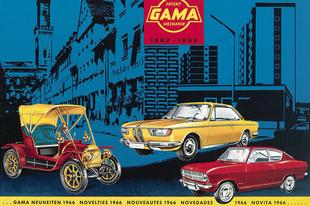Gama katalógus 1966