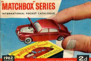 Matchbox katalógus 1962