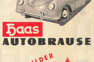 Haas Autobrause Autobilder Sammelheft