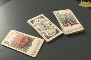 Játékmúzeum TV 204.adás - Közlekedési kvartett kártya