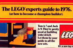 Lego System katalógus 1976