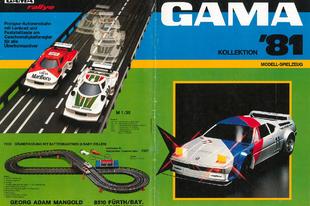 Gama katalógus 1981