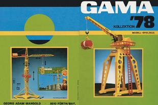 Gama katalógus 1978