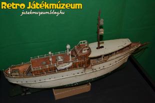 Märklin Jolanda óraműves hajó