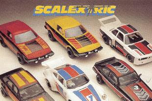 Scalextric katalógus 1982