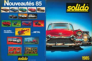 Solido katalógus 1985