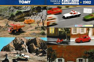 1982-es Tomica katalógus