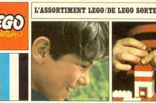 Lego System katalógus 1968