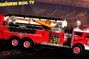 Játékmúzeum TV 198.adás - New Bright Fire Engine