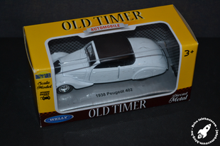 Oldtimer a boltból