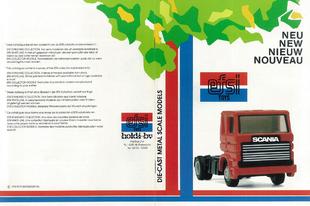 Efsi Toys katalógus 1986