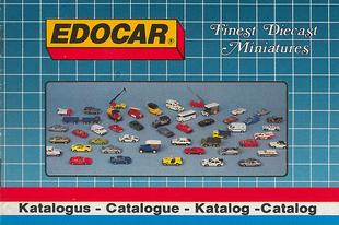 Edocar katalógus 1987