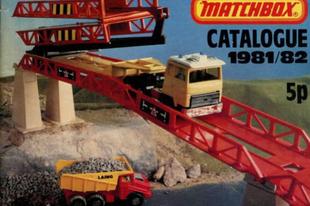 Matchbox katalógus 1981/1982