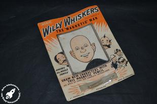 Willy Whiskers mágneses játék