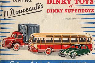 Dinky Toys katalógus 1956