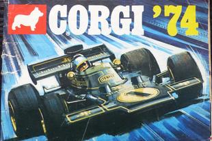 Corgi katalógus 1974