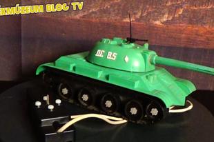 Játékmúzeum TV 197.adás - OC-85 távirányítós harckocsi